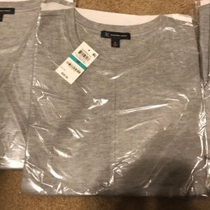 INC Gray T Shirt NEW  (Just in) more pic later!